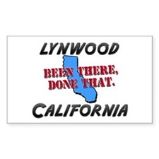 lynwood california - been there, done that Decal