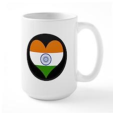 I love India Flag Mug