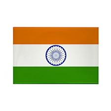 India Flag Rectangle Magnet
