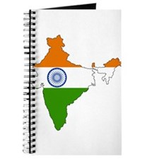 India Flag Map Journal