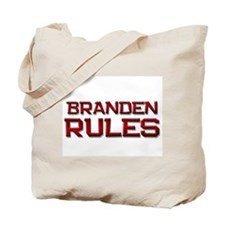 branden rules Tote Bag