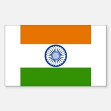 Indian Rectangle Decal