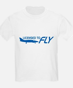 Licensed To Fly Pilot T-Shirt