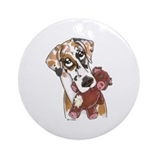 NFqn Teddy Ornament (Round)