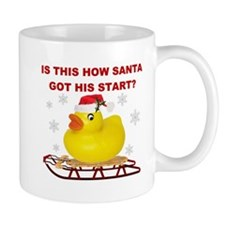 sLeDDiNg dUcK! Mug