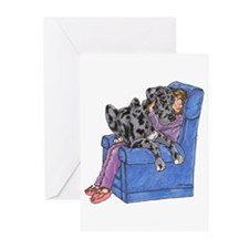 NMrl Chair Hug Greeting Cards (Pk of 10)