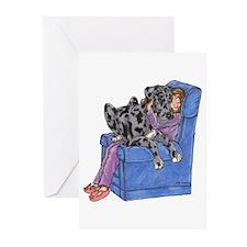 NMrl Chair Hug Greeting Cards (Pk of 20)