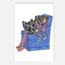 NMrl Chair Hug Postcards (Package of 8)