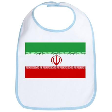 Iran Flag Bib