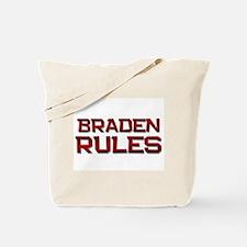 braden rules Tote Bag