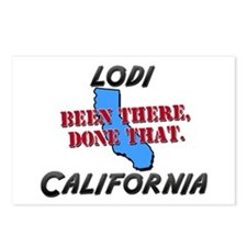 lodi california - been there, done that Postcards