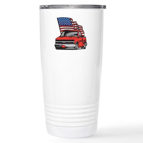 American Truck Stainless Steel Travel Mug