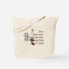 Swim Diva Tote Bag