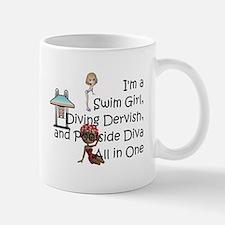 Swim Diva Small Small Mug