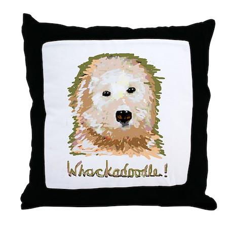 Whackadoodle! - Throw Pillow