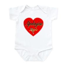 Apologize Infant Bodysuit
