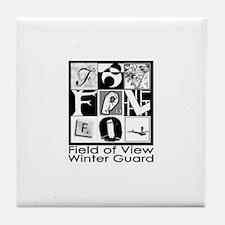 Unique Winter guard Tile Coaster
