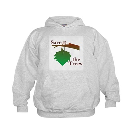 """Save The Trees"" Kids Hoodie"