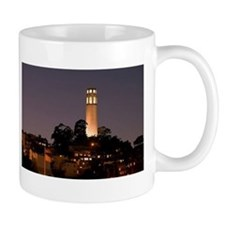 Coit Tower at Night Mug
