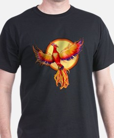 Phoenix Firebird Black T-Shirt