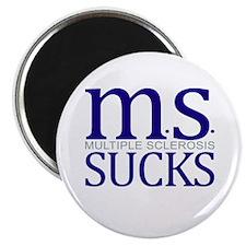 MS Multiple Sclerosis Sucks Button