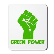 Green power Mousepad