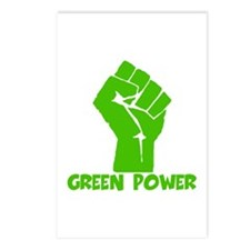 Green power Postcards (Package of 8)