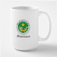 Martiniquais Coat of Arms Sea Large Mug