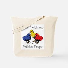 Pythian Peeps Tote Bag