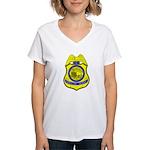 BLM Special Agent Women's V-Neck T-Shirt