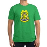 BLM Special Agent Men's Fitted T-Shirt (dark)