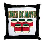 Cinco De Mayo! Throw Pillow
