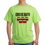 Cinco De Mayo! Green T-Shirt