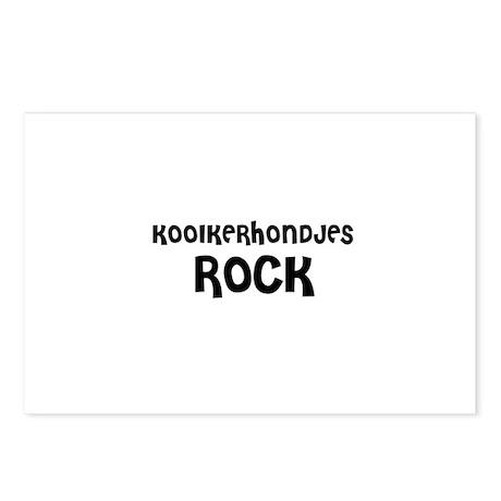 KOOIKERHONDJES ROCK Postcards (Package of 8)