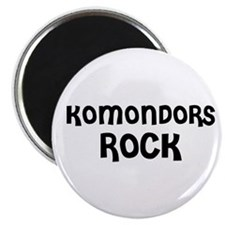 KOMONDORS ROCK Magnet