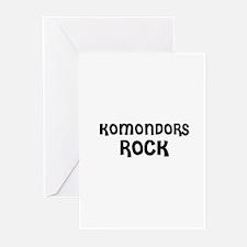 KOMONDORS ROCK Greeting Cards (Pk of 10)