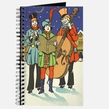 Vintage Christmas Musicians Journal