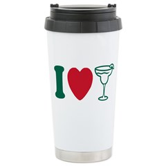 I Love Margaritas Travel Mug