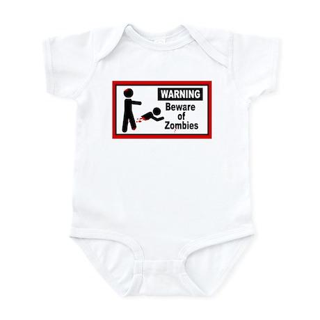 Beware of Zombies Infant Bodysuit