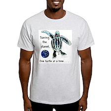 Earth & Sea Turtle Day T-Shirt