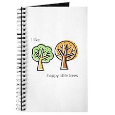 """""""Happy Trees"""" Journal"""