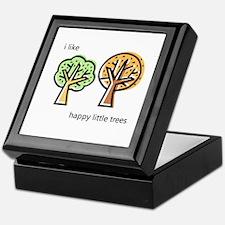 """""""Happy Trees"""" Keepsake Box"""