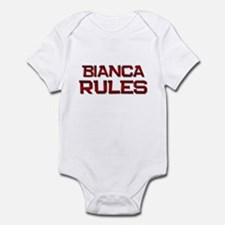 bianca rules Infant Bodysuit