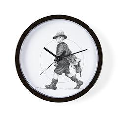 The Caddy Wall Clock