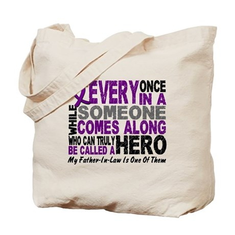 HERO Comes Along 1 Father-In-Law PC Tote Bag