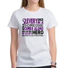 HERO Comes Along 1 Father-In-Law PC Tee