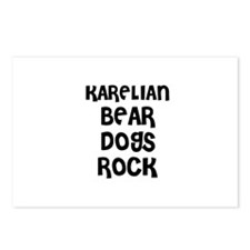 KARELIAN BEAR DOGS ROCK Postcards (Package of 8)