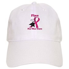 Fins For the Cure Baseball Cap