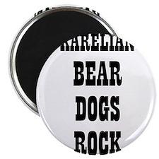 "KARELIAN BEAR DOGS ROCK 2.25"" Magnet (10 pack)"