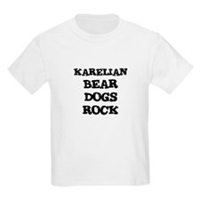 KARELIAN BEAR DOGS ROCK Kids T-Shirt